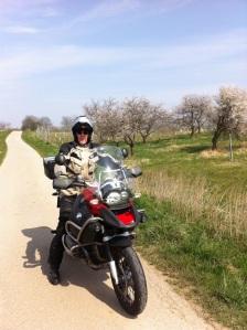 Stefan am Güterweg bei Rust