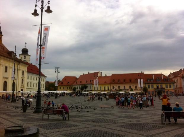 Marktplatz Sibiu