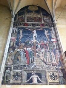 Fresko in der Marienkirche