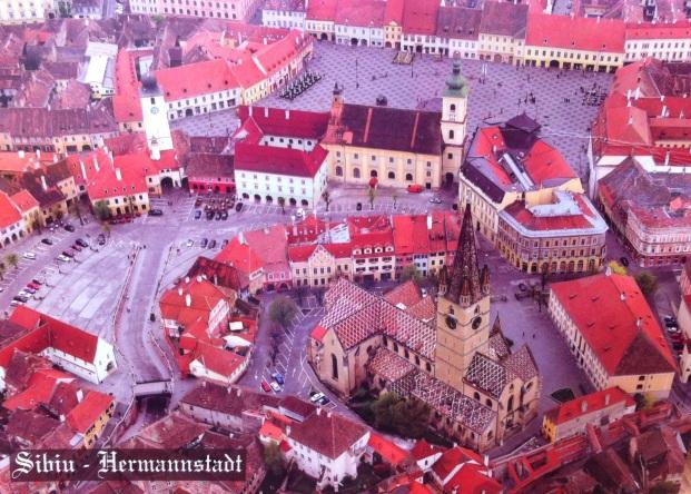 Postkarte von Sibiu