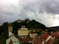 Blick zur Bergkirche