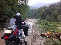 Weg nach Voineasa