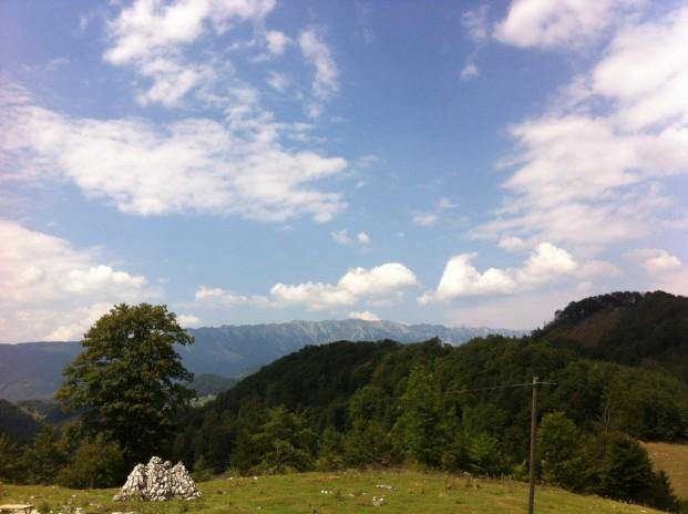 Fargaras-Gebirge im Hintergrund