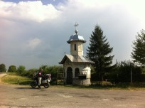 Wegkapelle bei Voinesti