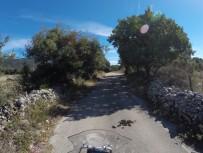 Kuhfladenslalom am Radweg