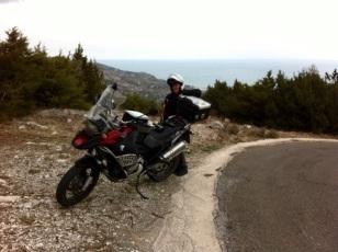 Blick Küste bei Mattinata