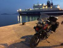 Ankunft in Igoumenitsa
