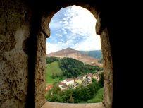 Blick auf den Erzberg aus dem Schichtturm