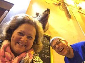 Beim wirt unseres Vertrauens in Orvieto