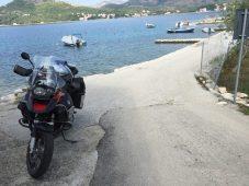 Pause in der Bucht von Slano
