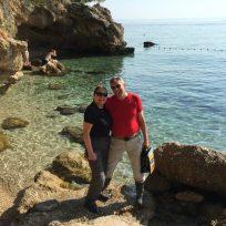 Brela - Badeplatz von Anita und Erich