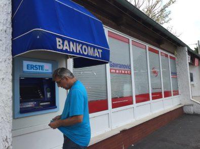 Bankomat in Sveti Juraj