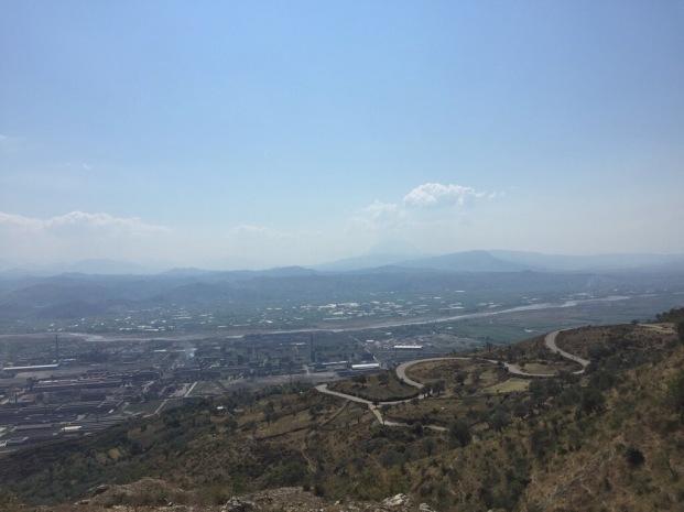 Alte Nationalstraße nach Tirana