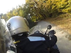 Fahrt in den Herbst