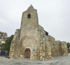 KIrchenruine Bergkirche in Leithaprodersdorf