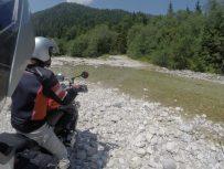 Flussdurchfurtung