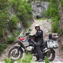 Der Drachentöter bei der Drachenhöhle - Solcava