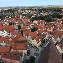 Blick auf die Stadt Nördlingen