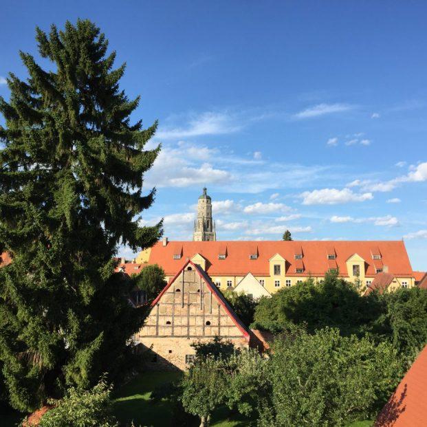 Evengelische Pfarrkirche mit dem Daniel (=Turm)