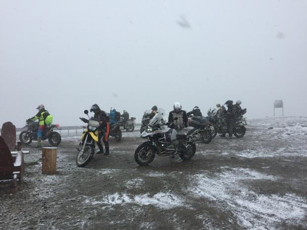 Transalpina- Passhöhe