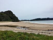 Hot Water Beach bei Hahei, Coromandel