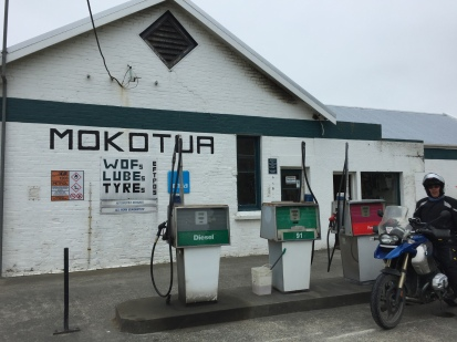 Tankstop in Mokotua