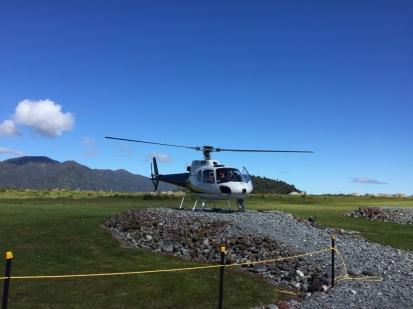 Hubschrauberlandeplatz
