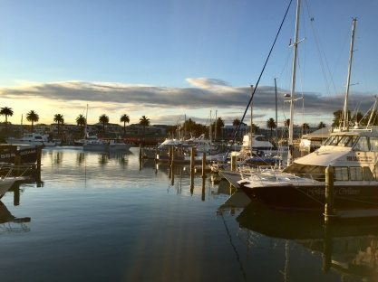 Hafen in Gisborn
