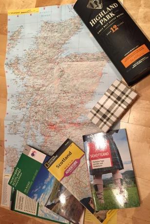 Travel preparation for Scotland