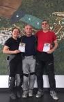 Enduro-Training bestanden, meine zwei besten Fahrer des Tages - Peter/Trainer & mein Pi