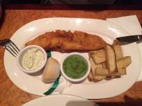 Fish & Chips der Klassiker