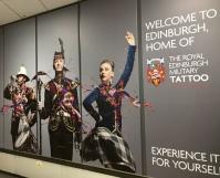 Gelandet in Edinburgh