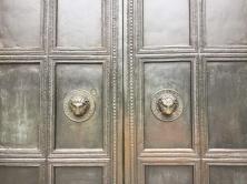 Bronze-Portal Aachener Dom