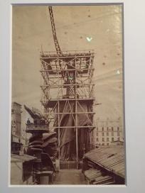 Errichtung Freiheutsstatue von Bartholdi