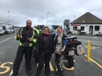 New friends from Spain at Mallaig