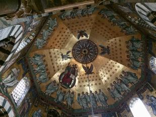 Kuppel-Mosaik Aachener Dom