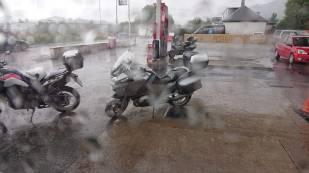 Heavy rainfalls