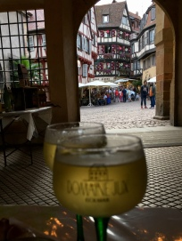 Am Weinfest in Colmar