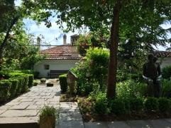 Garten im Balabanov House