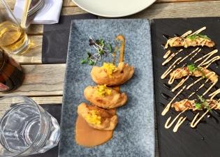 Empanadas & Crispy Shrimps