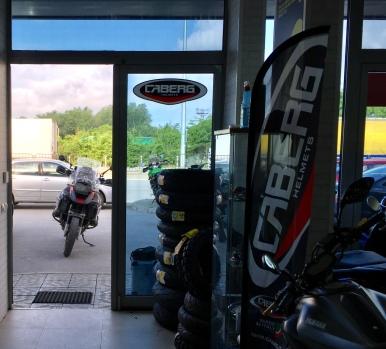 Bei MotoGP die Reifen holen