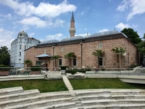 Römisches Stadion und Dzhumaya Moschee