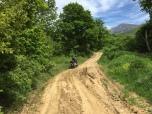 Auf dem Weg nach Meteora