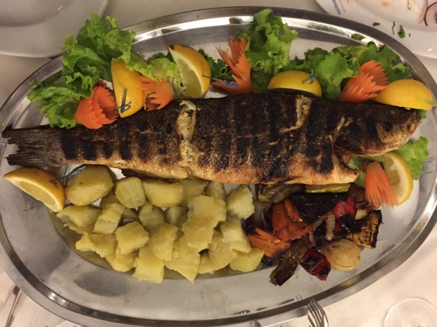 Fisch aus dem Schwarzen Meer