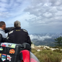Monte Limbara 1360 m
