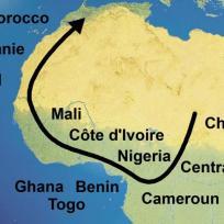 Route von Inside Afrika
