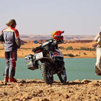 Am Ufer der Ouinanga Seen