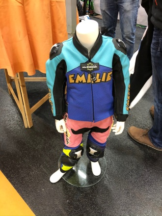 Maßgefertigter Lederanzug für Kids